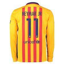 Nike NEYMAR JR Barcelona Away Long Sleeve Jersey (Authentic name and number of player) - display products Real Madrid Barcelona, Fc Barcelona Neymar, Barcelona 2015, Diy Sweatshirt, Sweater Hoodie, T Shirt, Messi 10, Lionel Messi, Neymar Jr