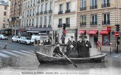 paris 1900 vs 2000