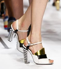 The Daily Shoe | Fendi - NYTimes.com  Can't afford them, but I can dream....