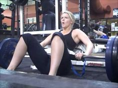 Molly Galbraith of MollyGalbraith.com and Girls Gone Strong Hip Thrusts 225 and 315