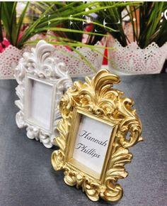 Gold Baroque Wedding Place Card Holder/Photo Frame ...