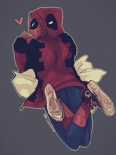 Spider man - 帆布鞋