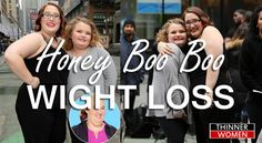 What is the secret of honey boo boo weight loss?