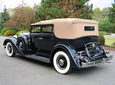 1934 Packard Eight Convertible Sedan offered for auction #1736851