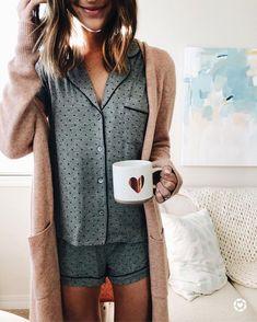 Original UGG® Amelia Knit Pyjama Setfor Women on the official UGG® website. Lounge Outfit, Lounge Wear, Outfit Chic, Home Outfit, Cute Pajamas, Pajamas Women, City Chic, Lazy Day Outfits, Cute Outfits