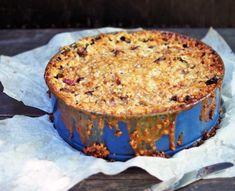 Raparperipiirakka x 4 - Himahella Frozen Cheesecake, Cheesecakes, Food Inspiration, Food And Drink, Gluten, Baking, Desserts, Pai, Tailgate Desserts
