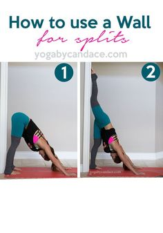 How to use a wall for splits