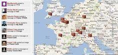 Wallit : le réseau social de proximité basé sur Google Maps Street View