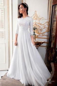 Modest wedding gowns 2017 orit (3)