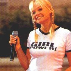 """I really want a Spice Girls """"Girl Power!"""" shirt...!"""