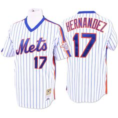 New York Mets Authentic 1986 Keith Hernandez Home Jersey by Mitchell & Ness - MLB.com Shop