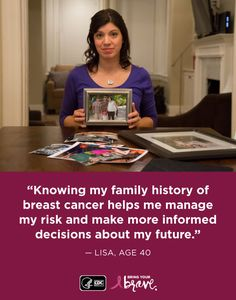 How to start a conversation with family members to learn about your family's health history. My Family History, Your Family, Breast Cancer, Conversation, Nursing, Learning, Health, Health Care, Studying
