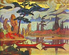 Mist Fantasy Northland - MacDonald, James E. (Canadian, 1873 - Fine Art Reproductions, Oil Painting Reproductions - Art for Sale at Galerie Dada Group Of Seven Art, Group Of Seven Paintings, Paintings I Love, Acrylic Paintings, Art Paintings, Tom Thomson, Emily Carr, Canadian Painters, Canadian Artists