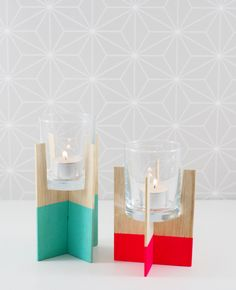 Ohoh Blog - diy and crafts: 5 DIY to try # tealight candles
