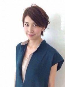 竹内結子 髪型 パーマ サイド