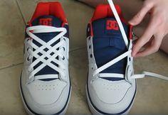 Bagaimana Membuat Simpul Sepatu Yang Keren