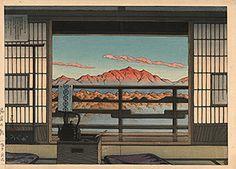 Hasui - Morning at the Arayu spa