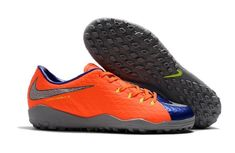 half off 2a465 c7cde Shop the latest 2018 Nike Hypervenom Phelon III DF TF Soccer Shoes -  Orange/Grey/Blue/Silver on the world's largest fashion site.