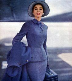 Suzy Parker 1955