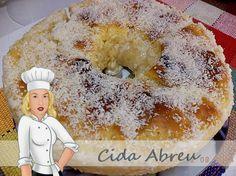 Rosca de Leite Condensado Diet Zero Açúcar - Culinária-Receitas - Mauro Rebelo