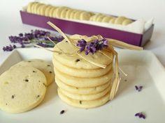 Citromhab: Levendulás keksz