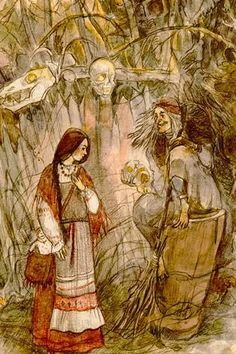 Image result for slovenian perchta baba
