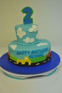 2nd Birthday Cake #birthdaycake