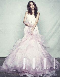 Lee Min Jung for Elle Korea