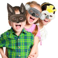 These Australian themed masks are perfect activities to do with your child and great for celebrating Australia Day, birthday parties or just for fun! Simply follow easy instructions here - www.eckersleys.com.au/projects/kids-craft-1036/Australian-Animal-Masks
