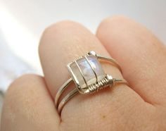 Elegant and modern jewelry rings with Gem Stones and Pearls.