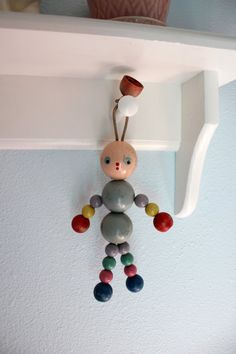 wood bead toy. Get your beads at www.fizzypops.com. We have a great selection in many colors and sizes.