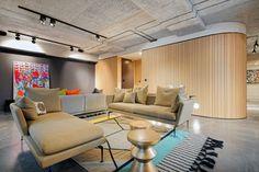 #naturalskin #modern #design #living #livingroom #clpd #london #furniture #designfurniture #ransomesdock #luxury #apartment #monolith #minacciolo #spacedivision #loft #interiordesign #interiors © Rob Falconer Photography