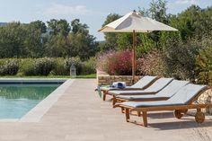 La Piboule, Provence, France - poolside