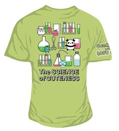 Genki Gear loves Tofu Cute! Here's on of our new range celebrating this fact.