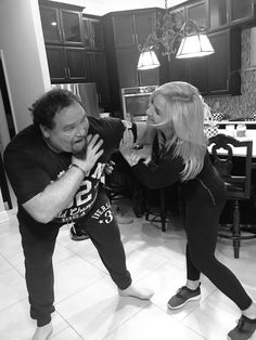 Jim Neidhart with his daughter Natalie Hitman Hart, Wwe Total Divas, Fathers Day Photo, Wwe Superstars, Dads, Daughter, Wrestling, Couple Photos