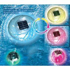 Floating Solar Rainbow Pool Light - 85107