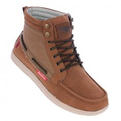 Brakeburn Ride boots in tan brown with lace detailing