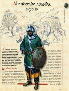 Abbasid standard-bearer, IX c.