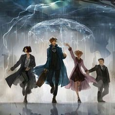 Fantastic Beast and Where to Find Them Arte Do Harry Potter, Harry Potter Universal, Harry Potter Fandom, Harry Potter World, Fantastic Beasts Fanart, Fantastic Beasts And Where, Hogwarts, Film Manga, Geeks