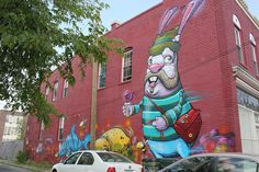 Completed G40 murals in Richmond, Virginia – Part 2