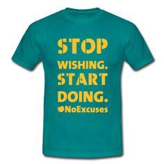 stop wishing, start doing #ClapClap #NoExcuses #Freeletics