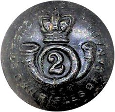 Queen's Own Rifles Of Canada Military uniform button Queen Victoria Crown, Queen Crown, Buttons For Sale, Black Queen, Girl Blog, Armed Forces, Canada, Military, Rifles