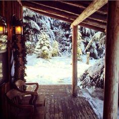back/side porch
