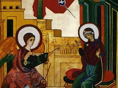 Anunciation by Kiko Arguello