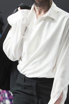 Classic White Shirt / Schiaparelli Spring 2014