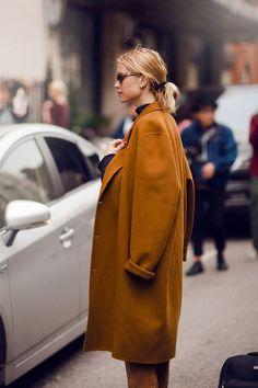 oversized kaban palto