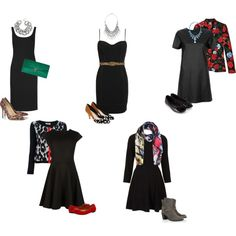 Tips for making an LBD look amazing! Try prints that include black.
