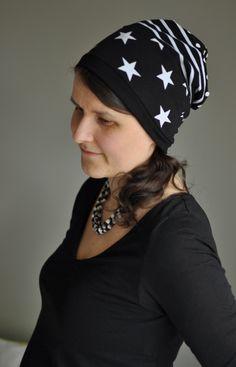 - - - SikSakSis - - -: Ruttuinen tilkkupipo (sisältää ohjeen ja kaavan) Henna, Baseball Hats, Beanie, Sewing, Fashion, Moda, Baseball Caps, Dressmaking, Couture