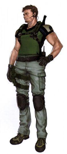 - Resident Evil 5 Concept Art