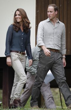 William, Kate--Prince William and his wife Kate, the Duke and Duchess of Cambridge arrive at Danum Valley Research Center in Danum Valley, Sabab, Malaysia, Saturday, Sept. 15, 2012.